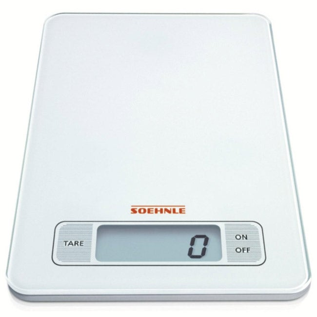 Soehnle 66100 Page White Digital Kitchen Scale