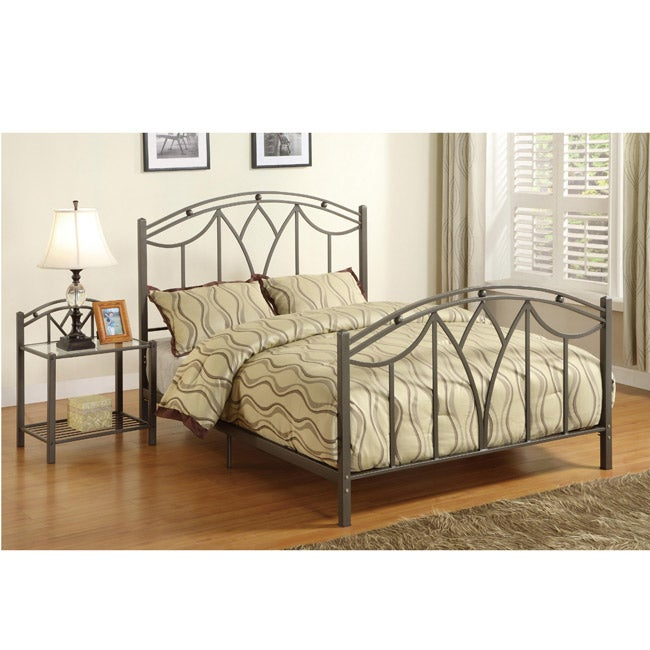 Madison Art-Deco Style Bed- Full or Queen