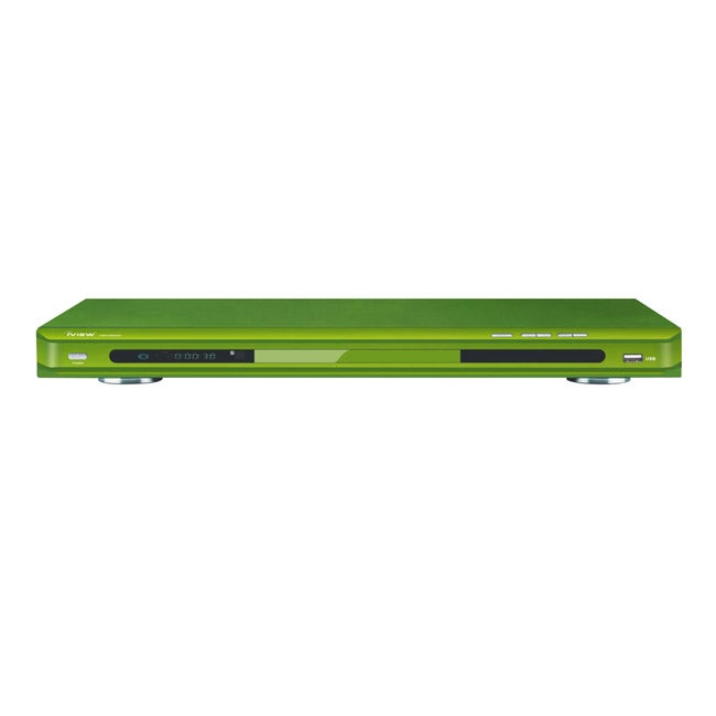 iView 2600HD Up-converting Green DVD Player