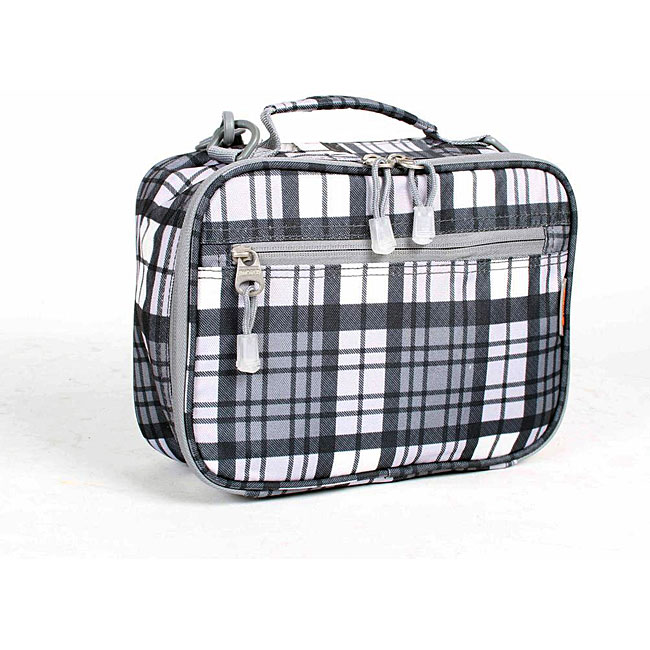 J World Tartan Grey Cody Lunch Box