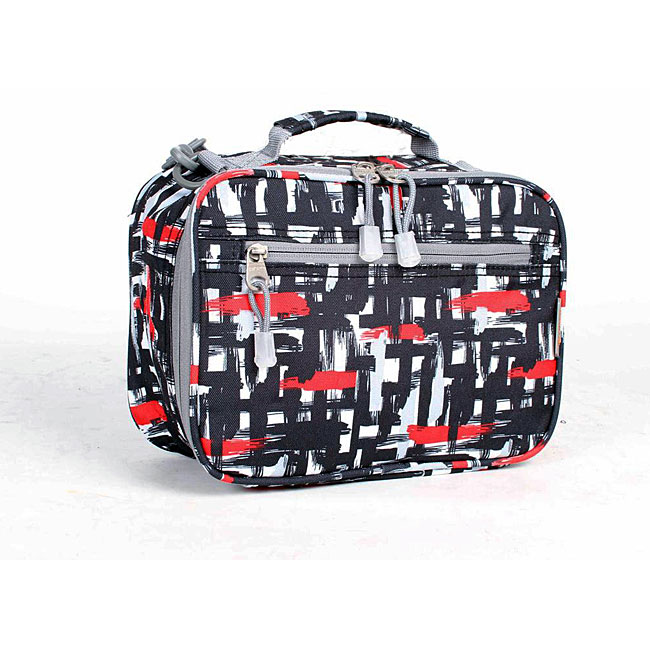 J World Red Touches Cody Lunch Tote