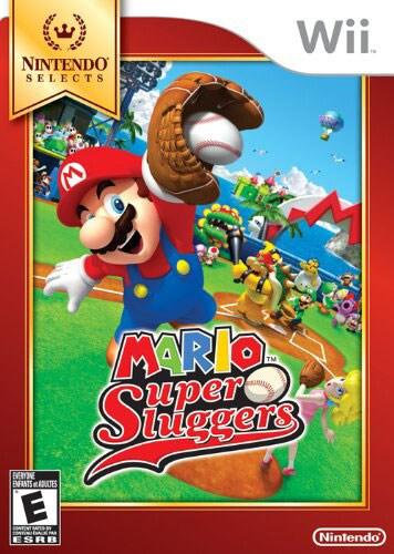 Wii - Nintendo Selects: Mario Super Sluggers - By Nintendo