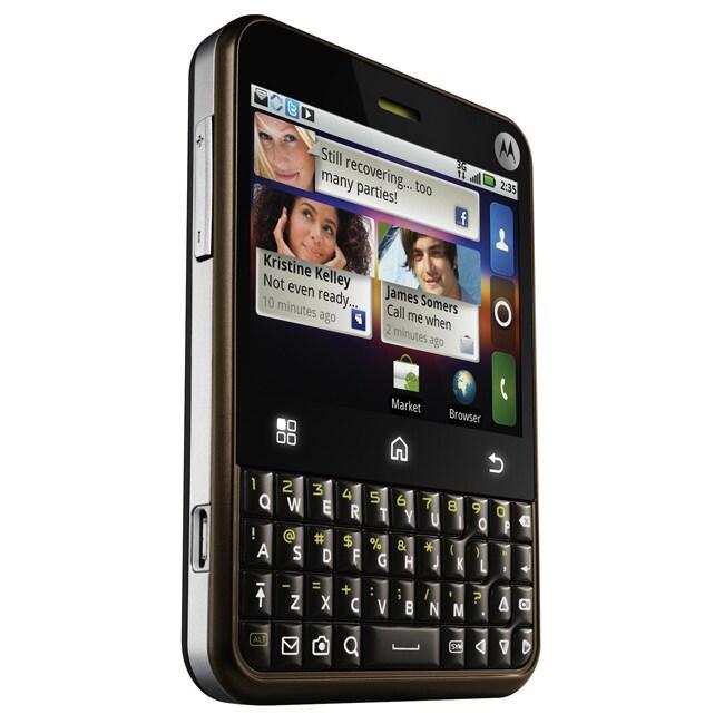 Motorola CHARM Unlocked Bronze Cell Phone