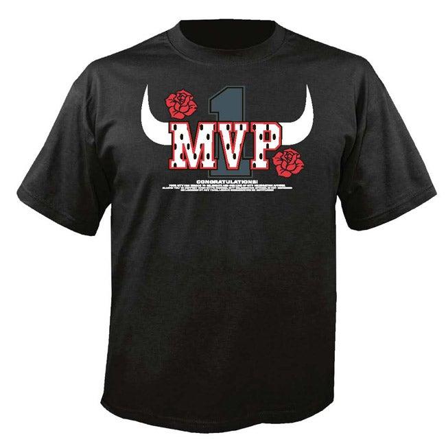 Chicago Basketball 'MVP' Black T-shirt