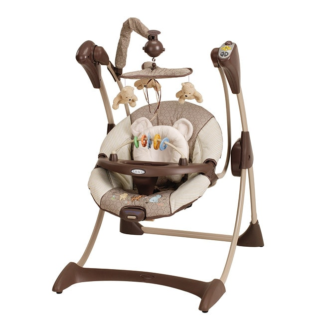 Graco Silhouette Disney Classic Pooh Infant Swing