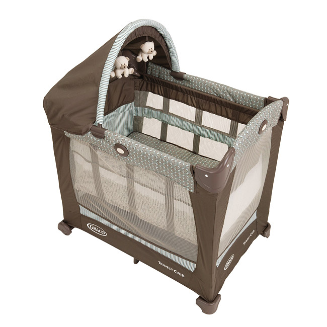 Overstock.com Graco Notting Hill Travel Lite Crib with Stages at Sears.com