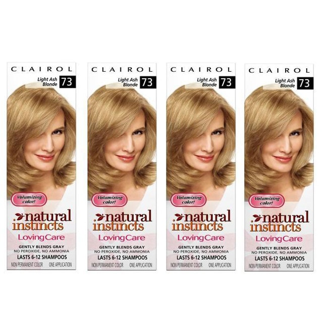 Clairol Loving Care '#73 Light Ash Blonde' Hair Color (Pack of 4)