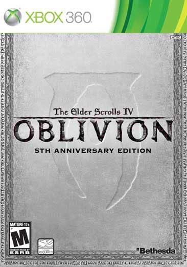 Xbox 360 - Oblivion 5th Anniversary Edition