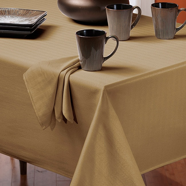 Rosedale Spill-proof LinenTablecloth