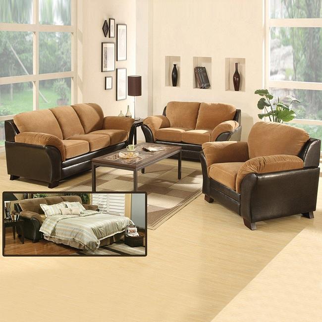 Living room furniture sofa set leather sleeper sofa sets