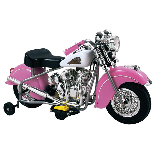 Little Indian Girl's Ride-on Motorcycle