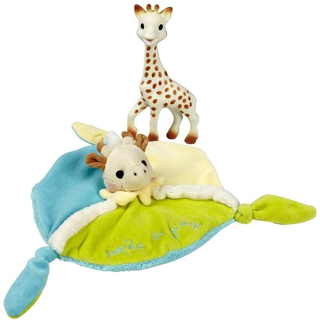 Vulli Sophie the Giraffe Supersoft Comforter Set