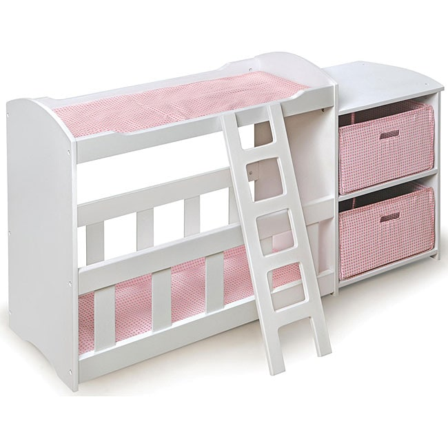 badger basket doll crib and changing table with dresser set overstock shopping big discounts. Black Bedroom Furniture Sets. Home Design Ideas