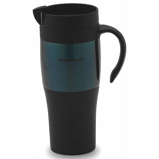 Farberware Blue Travel Mugs (Set of 2)
