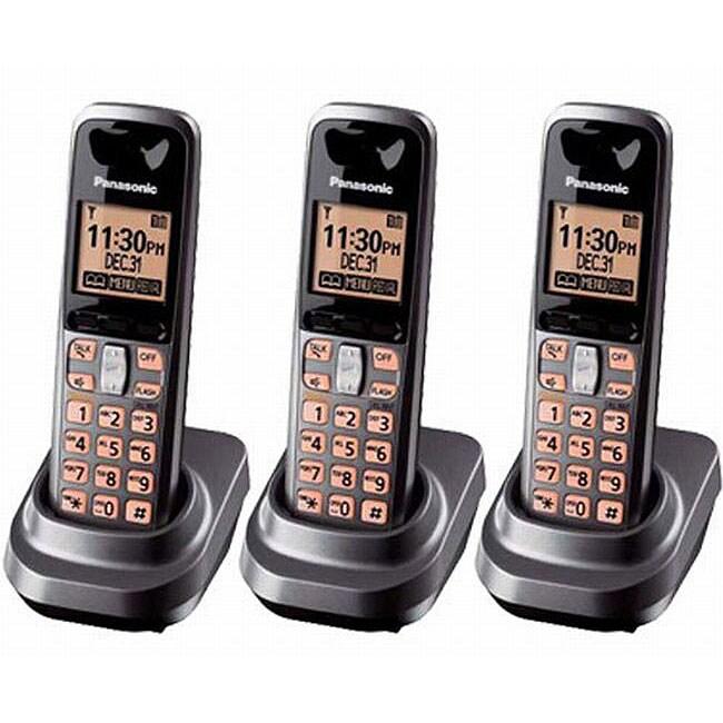 Panasonic KX-TG1061M DECT 6.0 Dark Grey Handset Kit