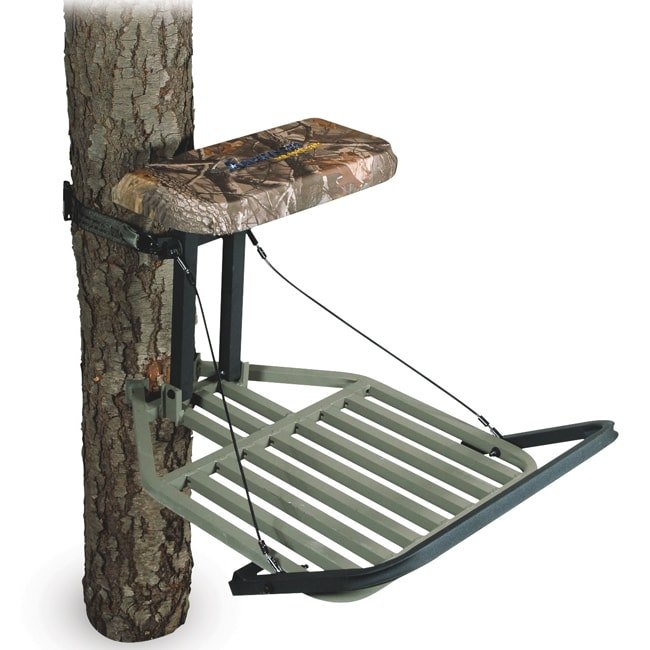 Ameristep non typical outfitter aluminum hang on treestand 13676187