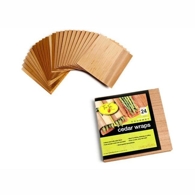 Truefire Gourmet Cedar Wraps (Case of 24)