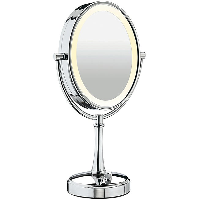 lighting mirror overstock shopping top rated conair makeup mirrors. Black Bedroom Furniture Sets. Home Design Ideas