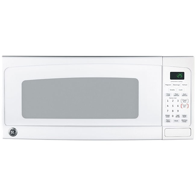 GE Spacemaker II JEM25DMWW 1-cu-ft Countertop Microwave Oven