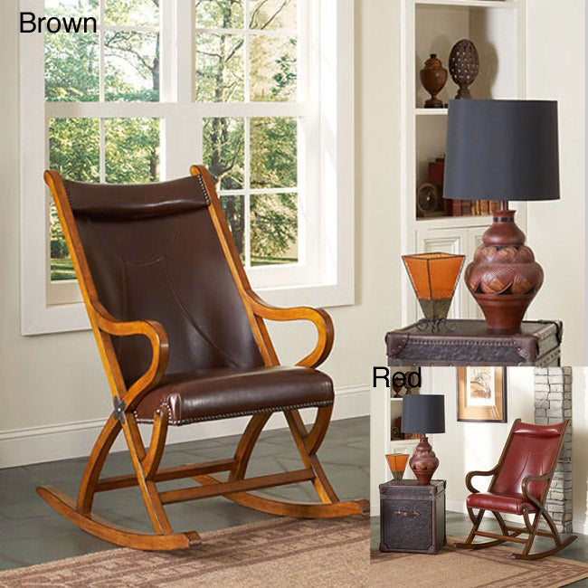 ... > Living Room Furniture > Rocking Chair > Solid Wood Rocking Chair