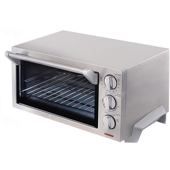 DeLonghi DLEO1260 Stainless Steel Toaster Oven