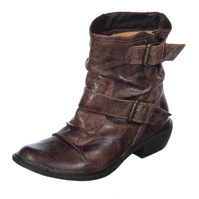 s buckley brown leather ankle boots