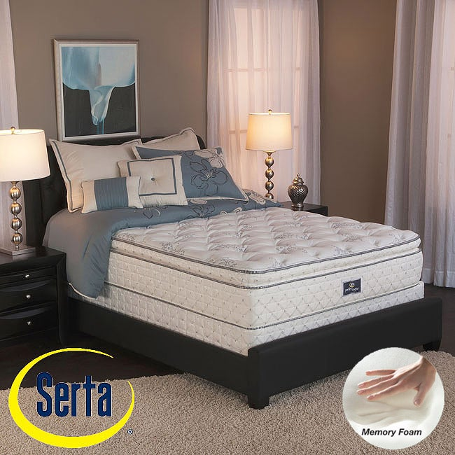 Serta Perfect Sleeper Liberation Pillowtop King-size Mattress and Box Spring Set