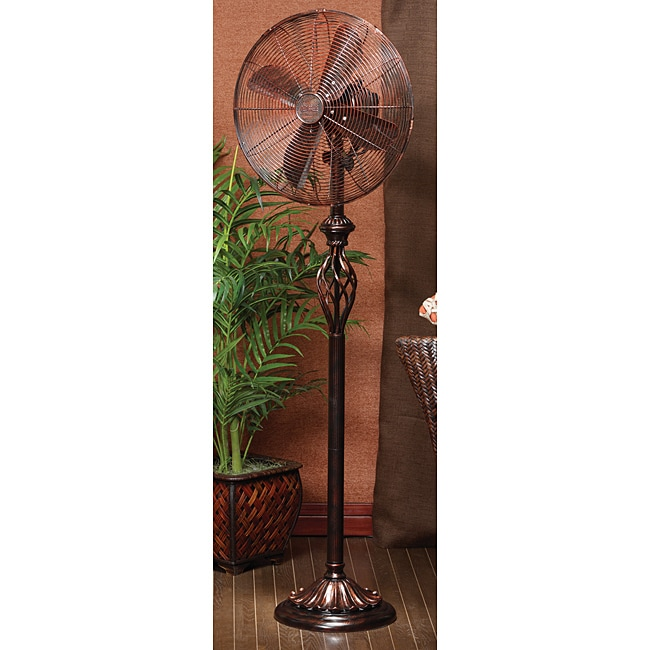Deco Breeze DBF0502 Prestige Rustica 55.5-inch Standing Fan