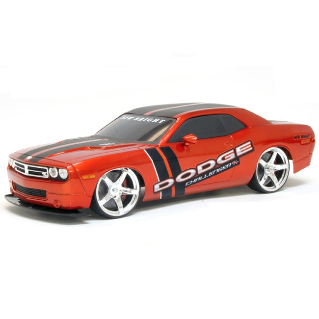 New Bright 1:10 Electric Dodge Challenger RC Car