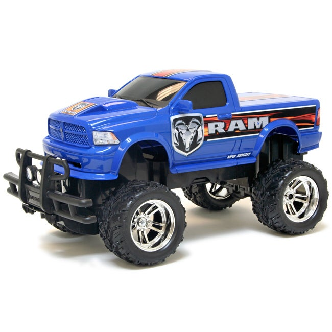 New Bright 1 14 Electronic Dodge Ram Rc Truck 13693214