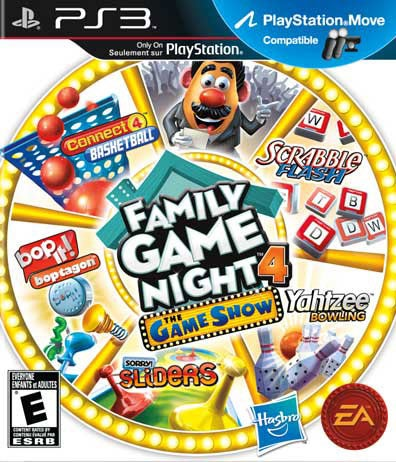 PS3 - Hasbro Family Game Night 4