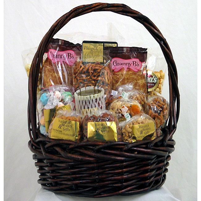 Gift Techs Mountain Summit Keepsake Gift Basket