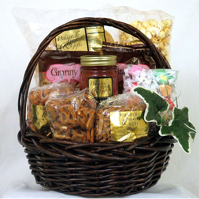 Gift Techs Mountain Delight Keepsake Gift Basket