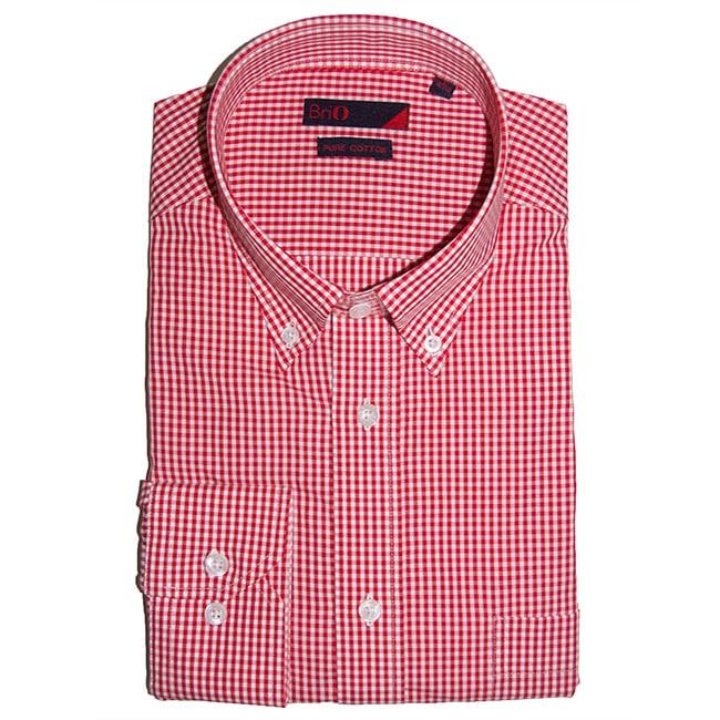 Brio Men's Fashion Dress Shirt