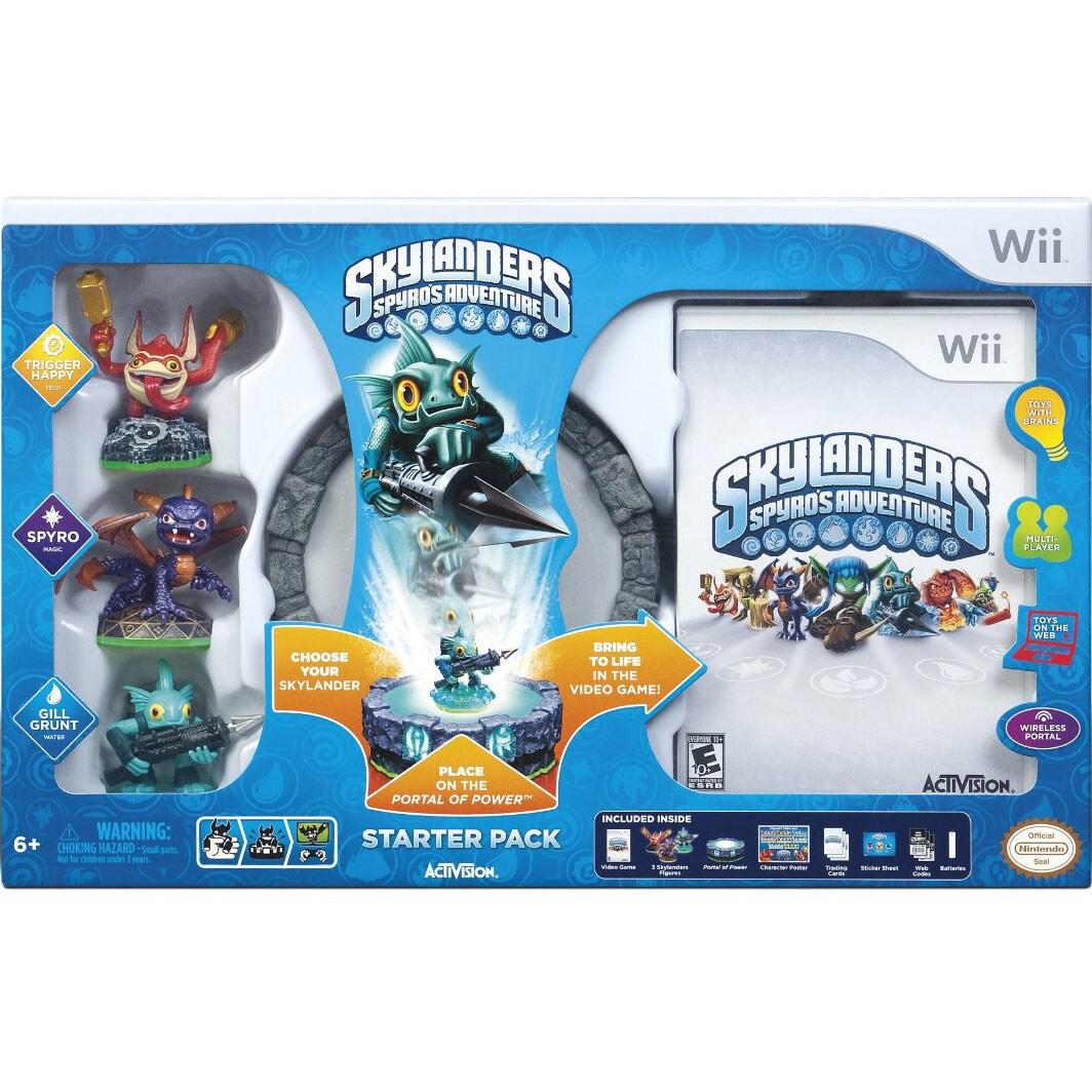 Wii - Skylanders: Spyros Adventure Starter Kit
