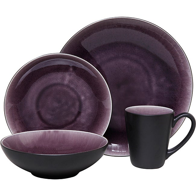 Gibson Zazen 16-piece Dinnerware Set