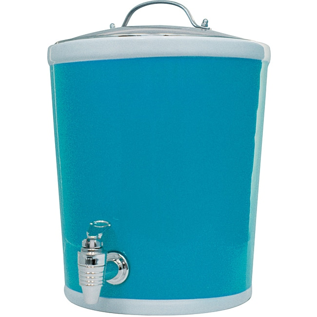 American Atelier Blue Beverage Dispenser