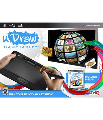 PS3 - uDraw Gametablet with uDraw Studio: Instant Artist - By THQ
