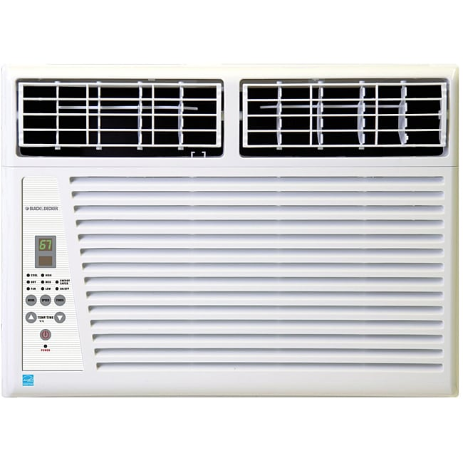 Black Amp Decker Bwe12a Energy Star Air Conditioner