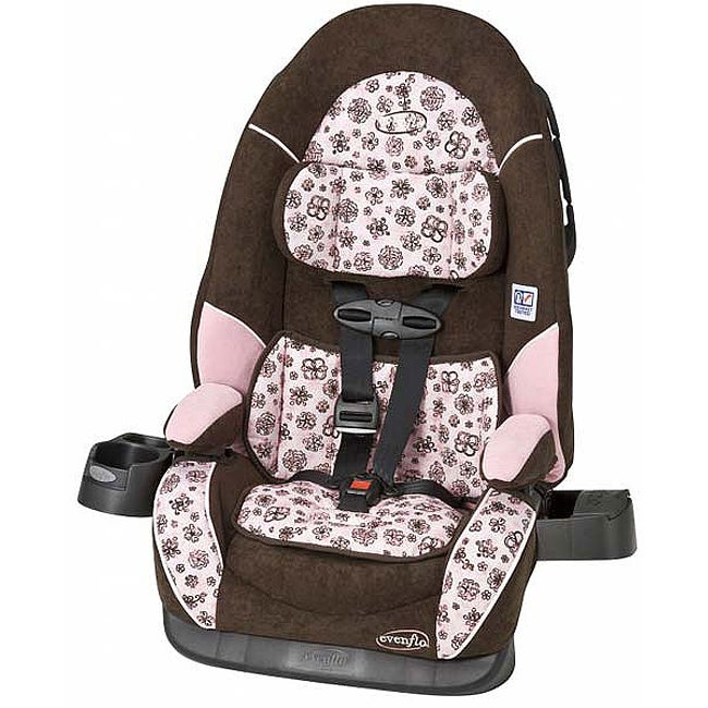 Evenflo Chase DLX Booster Car Seat in Abby II