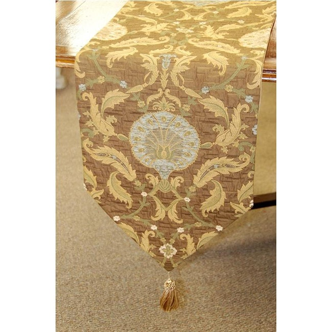 table tapestry runner Italian Runner  Pineapple Tapestry Table