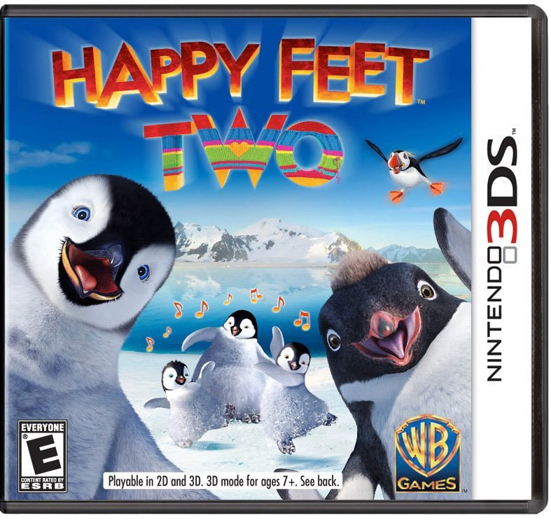 NinDS 3DS - Happy Feet Two: The Video Game - By WB Games