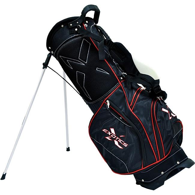 Tour Edge Exotics Xtreme Black Stand Golf Bag