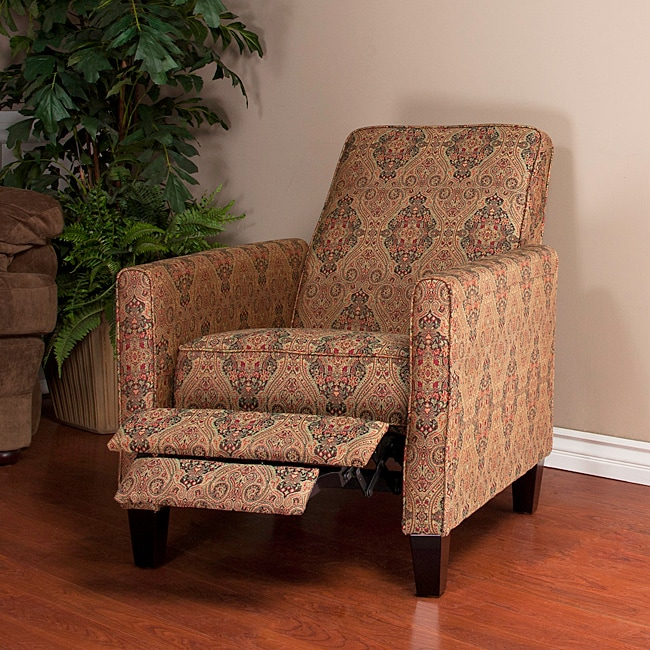 Paisley Recliner Club Chair