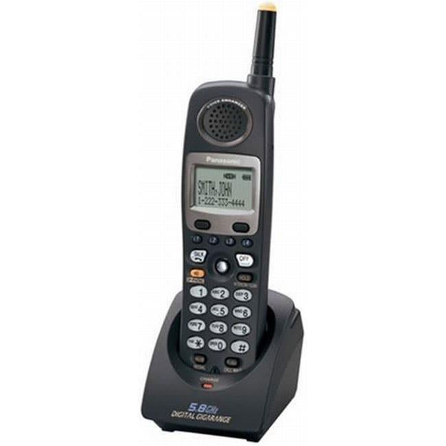 Panasonic KX-TGA450B 5.8 GHz 4-line Cordless Handset
