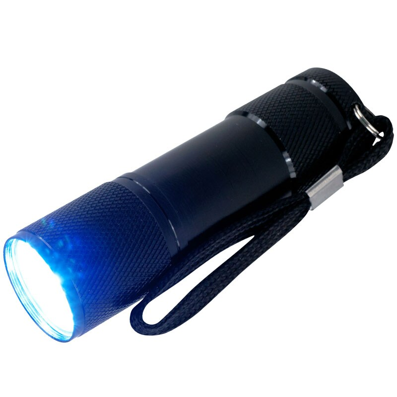 Super Bright 9 LED Flashlight with Lanyard (Pack of 4)