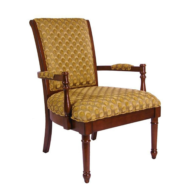Ronson Gold Scaled Accent Chair