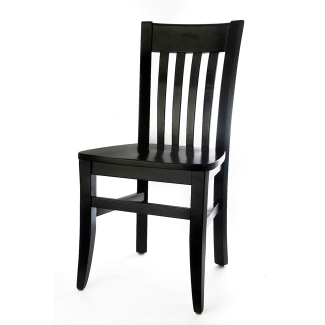 Jacob Slat-back Side Chairs (Set of 2)