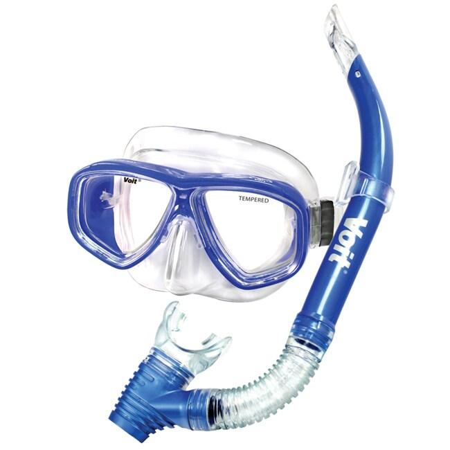 Manta Ray Adult Mask and Snorkel Combo