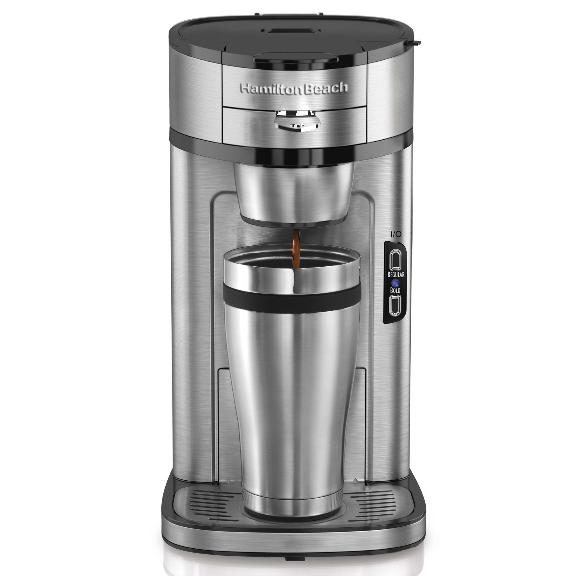 How Many Scoops In Coffee Maker : Hamilton Beach Single Serve Scoop Coffee Maker - 13747545 - Overstock.com Shopping - Great Deals ...